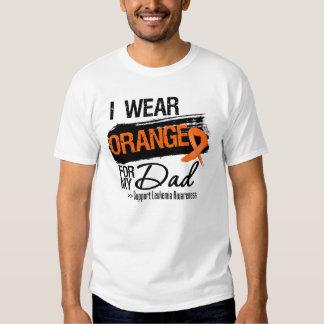 Cinta de la leucemia para mi papá camisas