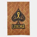 Cinta de la leucemia - toalla - edición de las esp