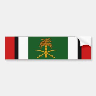 Cinta de la liberación de Kuwait Pegatina De Parachoque