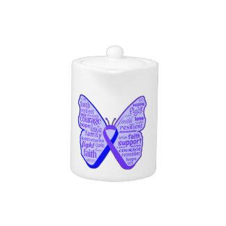 Cinta de la mariposa de la artritis reumatoide