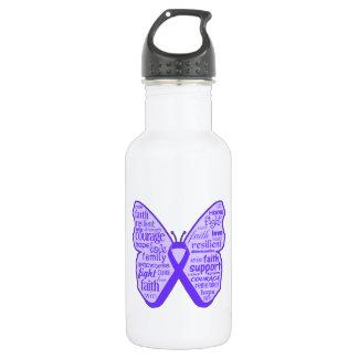 Cinta de la mariposa de la conciencia del síndrome