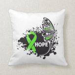 Cinta de la mariposa del linfoma no-Hodgkin de la  Cojin