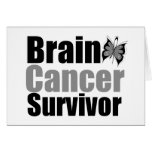Cinta de la mariposa del superviviente del cáncer  tarjetas