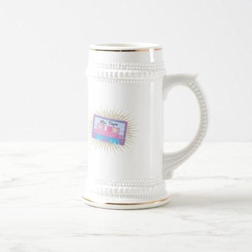 cinta de la mezcla de los años 80 taza de café