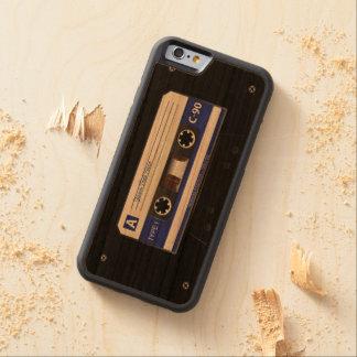 Cinta de la mezcla del casete audio funda de iPhone 6 bumper cerezo