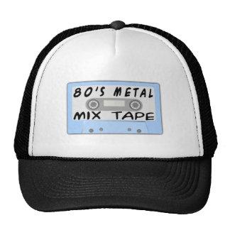 cinta de la mezcla del metal 80s gorros