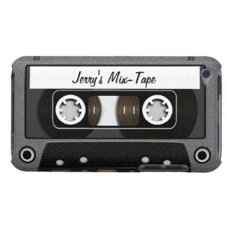 Cinta de la mezcla personalizada cubierta para iPod de barely there