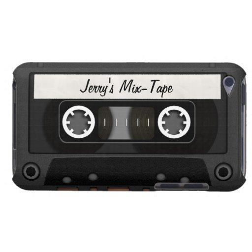 Cinta de la mezcla personalizada iPod touch Case-Mate protectores