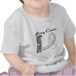 Cinta de la piedra preciosa de la conciencia del camiseta