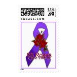 cinta de la púrpura de los rosas del sello 65 de l
