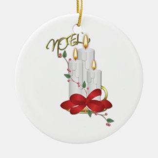Cinta de la vela de Noel de nuestra casa el suyo Ornamentos De Reyes Magos