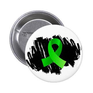 Cinta de la verde lima de la enfermedad de Lyme co Pin Redondo 5 Cm