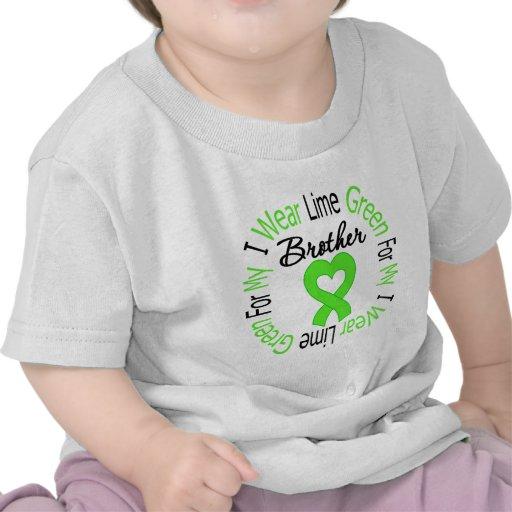 Cinta de la verde lima del desgaste del linfoma I  Camiseta