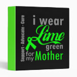 Cinta de la verde lima del linfoma para mi madre