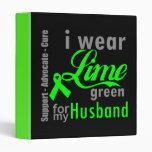 Cinta de la verde lima del linfoma para mi marido