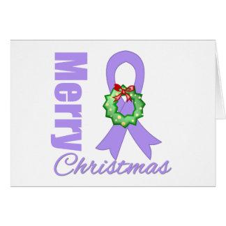 Cinta de las Felices Navidad de general Cancer Awa Felicitaciones