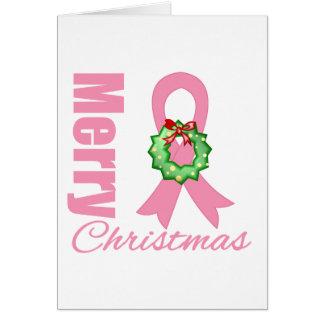 Cinta de las Felices Navidad de la conciencia del  Tarjetón