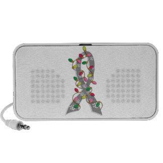 Cinta de las luces de navidad de la diabetes juven iPod altavoces