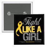 Cinta de Neuroblastoma - lucha como un chica Pins