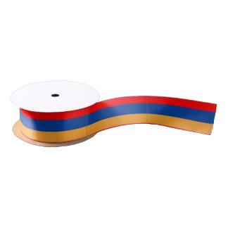 Cinta de satén armenia de la bandera lazo de raso