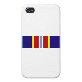Cinta de ultramar del servicio de USCG iPhone 4 Protectores