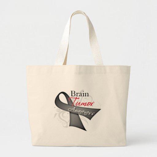 Cinta de voluta - conciencia del tumor cerebral bolsa