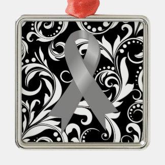 Cinta Deco del cáncer de cerebro Noir Adorno De Navidad