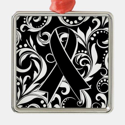 Cinta Deco del cáncer de piel Noir Adorno De Reyes