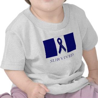 Cinta del añil que sobreviví. DBI Camisetas