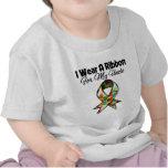 Cinta del autismo para mi tío camisetas