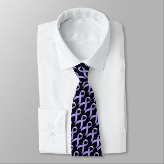Cinta del bígaro - conciencia del cáncer de corbatas personalizadas