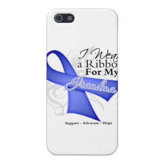 Cinta del bígaro de la abuela - cáncer de estómago iPhone 5 fundas