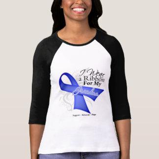 Cinta del bígaro de la abuela - cáncer de estómago camisetas