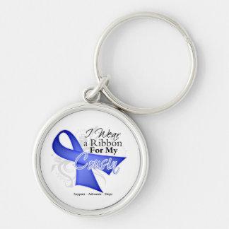 Cinta del bígaro del primo - cáncer de estómago llaveros personalizados
