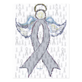 Cinta del cáncer de cerebro del ángel postal