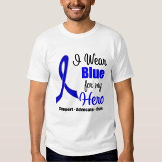 Cinta del cáncer de colon para mi héroe poleras
