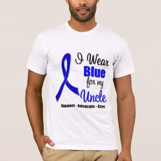 Cinta del cáncer de colon para mi tío playera