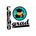 Cinta del cáncer de cuello del útero del graduado  postales