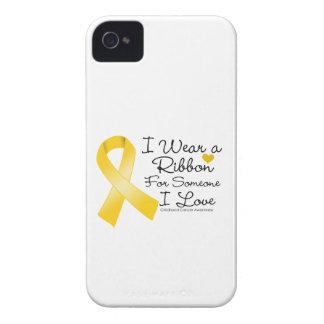 Cinta del cáncer de la niñez alguien amor de I Carcasa Para iPhone 4
