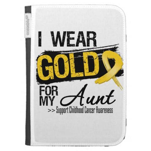 Cinta del cáncer de la niñez para mi tía