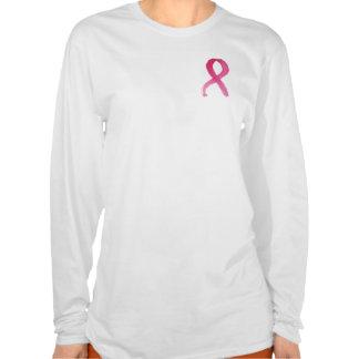 Cinta del cáncer de pecho - camiseta de la imagen playeras