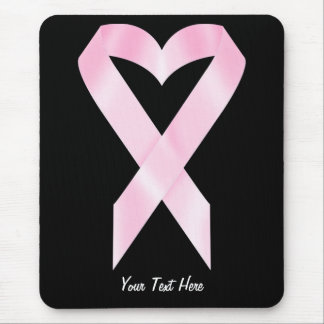 Cinta del cáncer de pecho (personalizable) mouse pads