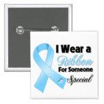 Cinta del cáncer de próstata alguien especial pins