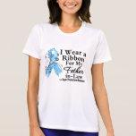 Cinta del cáncer de próstata del suegro camisetas