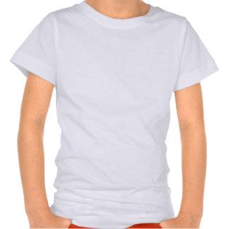 Cinta del cáncer de pulmón de la papá camiseta
