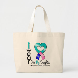 Cinta del cáncer de tiroides para mi hija bolsa