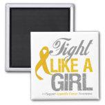 Cinta del cáncer del apéndice - lucha como un chic imanes