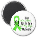 Cinta del cáncer del linfoma mi héroe mi hija imán