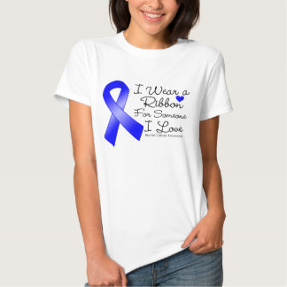 Cinta del cáncer rectal alguien amor de I Polera