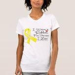 Cinta del cáncer testicular alguien amor de I Camisetas